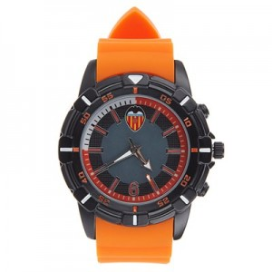 Valencia CF Silicone Strap Watch - Orange-Black