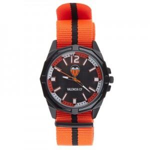 Valencia CF Nylon Strap Watch - Orange-Black