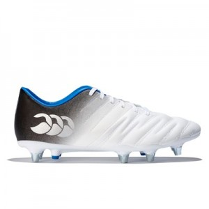 Canterbury Phoenix 2.0 Soft Gound Rugby Boot - Optic White