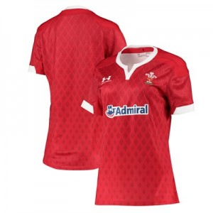 Welsh Rugby Sevens & Pathway Replica Home Jersey - Womens