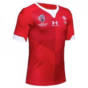 Welsh Rugby Replica Home World Cup 2019 Shirt - Youth