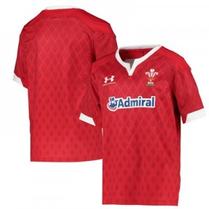 Welsh Rugby Sevens & Pathway Replica Home Jersey - Youth
