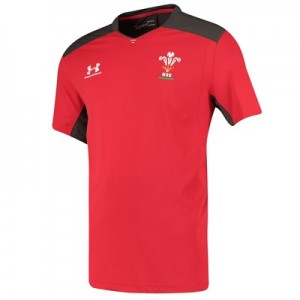 Welsh Rugby Training Tee - Red