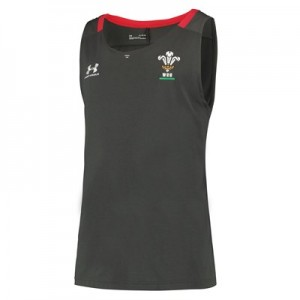 Welsh Rugby Training Tank - Grey